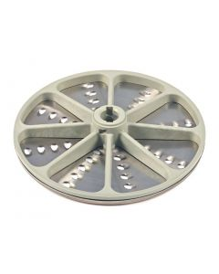 This is an image of a Grating Disc 7mm for G784 Buffalo Multi-function Continuous Veg Prep