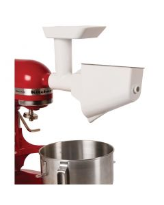 This is an image of a FruitVegetable Strainer for Kitchenaid Mixers