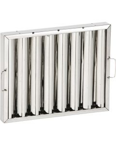 This is an image of a Kitchen Canopy Baffle Filter 390 x 390mm