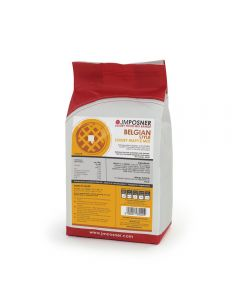 This is an image of a JM Posner Finest Belgian Style Waffle Mix - 2.3kg bag