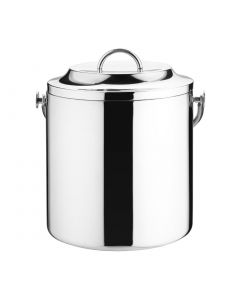 This is an image of a Double Wall Ice Pail StSt - 33Ltr