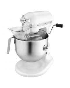 This is an image of a Kitchenaid Heavy Duty Mixer - 13hp 69Ltr Bowl White