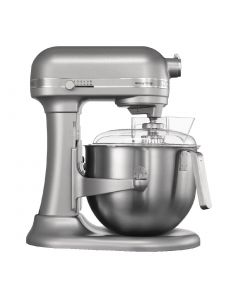 This is an image of a Kitchenaid Heavy Duty Mixer - 13hp 69Ltr Silver Metallic
