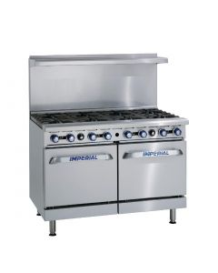 This is an image of a Imperial 8 Burner Double Oven Range (Nat) (Direct)