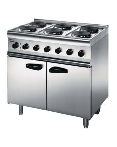 This is an image of a Lincat Silverlink 6 Burner Electric Range 3 Phase