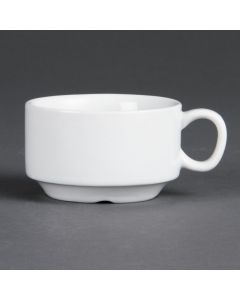This is an image of a Olympia Whiteware Stacking Espresso Cup - 3oz (Box 12)