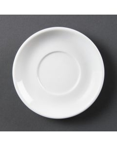This is an image of a Olympia Whiteware Espresso Saucer (for CB471) (Box 12)