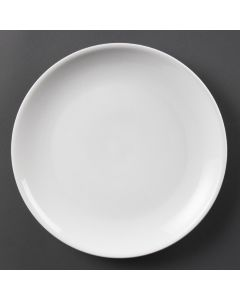 "This is an image of a Olympia Whiteware Coupe Plate - 28cm 11"" (Box 6)"