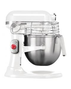 This is an image of a Kitchenaid Professional Mixer White - 69Ltr
