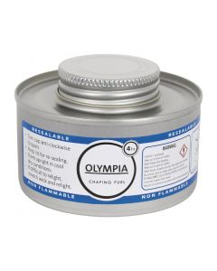 This is an image of a Olympia Chafing Liquid Fuel 4 Hour (Pack 12)