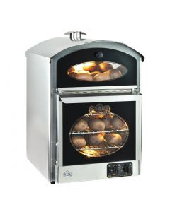 This is an image of a King Edward Bake-King Potato Oven Stainless Steel