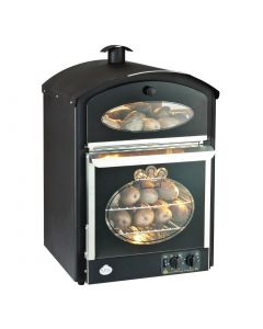 This is an image of a King Edward Bake-King Potato Oven Black