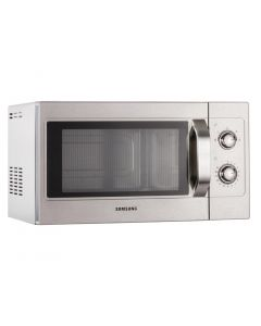 This is an image of a Samsung 1100W Light Duty Microwave Oven CM1099