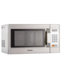 This is an image of a Samsung 1100W Light Duty Microwave Oven CM1089