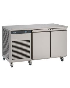 This is an image of a Foster EcoPro G2 2 Door Counter Meat Fridge 280Ltr EP12M