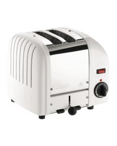 This is an image of a Dualit Vario Toaster 2 Slots White
