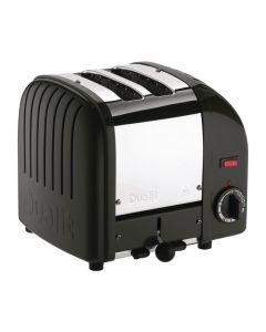 This is an image of a Dualit Vario Toaster 2 Slots Black