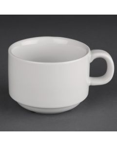 This is an image of a Athena Hotelware Stacking Cup - 200ml 7oz (Box 24)
