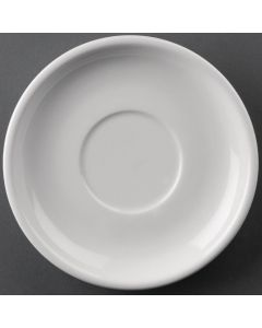"This is an image of a Athena Hotelware Saucer DW for CC200CC201 145mm 5 34"" (Box 24)"