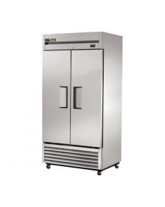 This is an image of a True Double Door Fridge Stainless Steel 991Ltr T-35