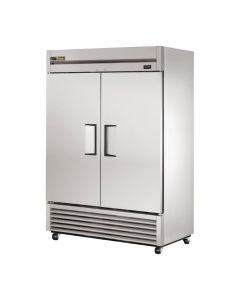 This is an image of a True Double Door Fridge Stainless Steel 1388Ltr T-49
