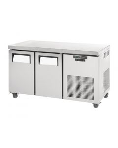 This is an image of a True 2 Door 297Ltr Counter Fridge TGU-2-HC