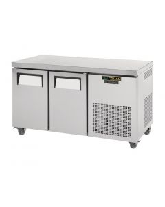 This is an image of a True 2 Door 297Ltr Counter Freezer TGU-2F
