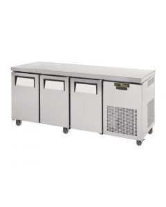 This is an image of a True 3 Door 456Ltr Counter Fridge TGU-3-HC