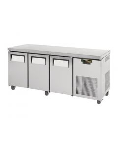 This is an image of a True 3 Door 456Ltr Counter Freezer TGU-3F
