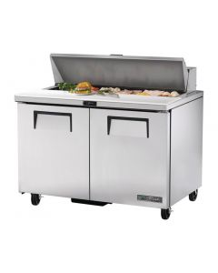 This is an image of a True Salad Prep Counter 2 Door 340Ltr TSSU-48-12