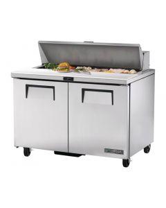 This is an image of a True Salad Prep Counter 2 Door 340Ltr TSSU-48-12