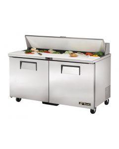 This is an image of a True Salad Prep Counter 2 Door 439Ltr TSSU-60-16