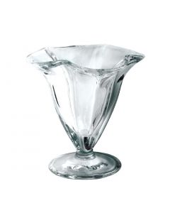 This is an image of a Flared Dessert Glass Small - 128ml 45oz 115mm high (Box 6)