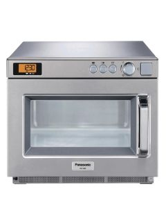 This is an image of a Panasonic Heavy Duty Compact Microwave Manual - 1800watt (Direct)