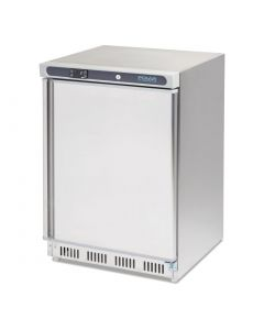 This is an image of a Polar Undercounter Freezer Stainless Steel 140Ltr