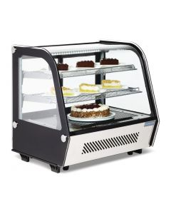 This is an image of a Polar Refrigerated Countertop Display Chiller 120 Ltr