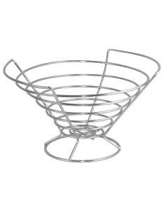 This is an image of a Fruit Bowl StSt - 160hx280diamm