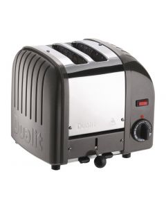 This is an image of a Dualit 2 Slice Vario Toaster Metallic Charcoal 20241