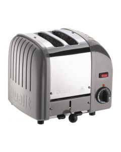 This is an image of a Dualit 2 Slice Vario Toaster Metallic Silver 20242