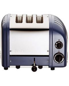 This is an image of a Dualit 3 Slice Vario Toaster Lavender Blue 30078