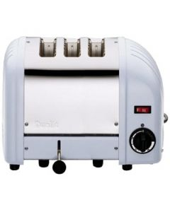 This is an image of a Dualit 3 Slice Vario Toaster Glacier Blue 30145