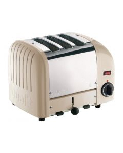 This is an image of a Dualit 3 Slice Vario Toaster Utility Cream 30086