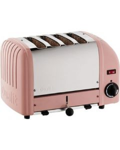 This is an image of a Dualit 4 Slice Vario Toaster Petal Pink 40351
