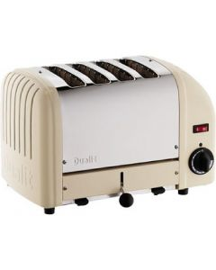 This is an image of a Dualit 4 Slice Vario Toaster Utility Cream