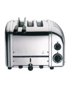 This is an image of a Dualit 2+1 Combi Vario Toaster Polished
