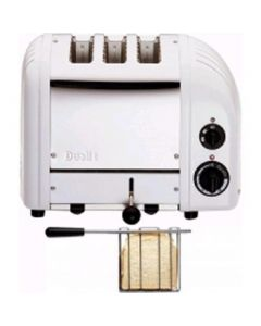 This is an image of a Dualit 2+1 Combi Vario Toaster White