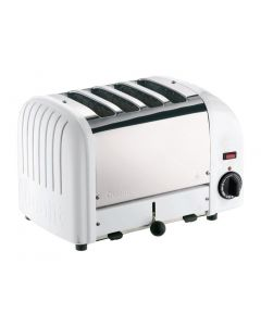 This is an image of a Dualit 2x2 Combi Vario Toaster White