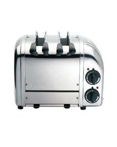 This is an image of a Dualit 2 Slot Vario Sandwich Polished
