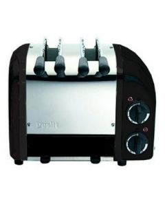 This is an image of a Dualit 2 Slot Vario Sandwich Black