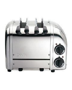 This is an image of a Dualit 2 Slot Vario Sandwich White
